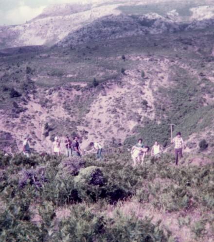 Θεμελίωση καταφυγίου ΕΟΣ από τα μέλη του (1985)